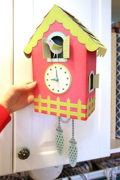 Samantha Walker's Imaginary World: Part 2 Cuckoo Clock Tutorial