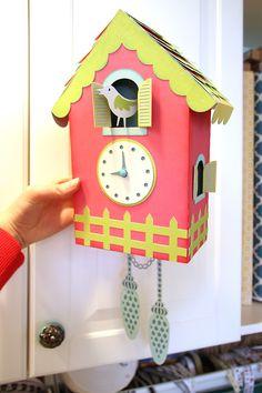 Samantha Walker's Imaginary World: Part 2 Cuckoo Clock Tutorial