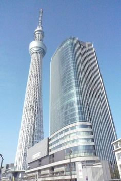 The newly opened Tokyo Skytree.