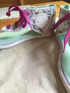 My customized @converse sandals