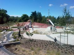 Designer: Space2place, Landscape architecture / CanadaGarden City Play Environment – Opening Day – June 2008 from space2place on Vimeo. Garden City Park is located… ...