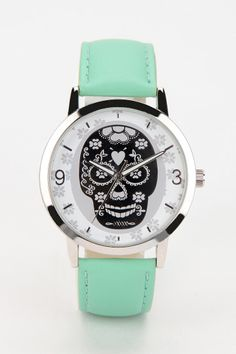 Skull Watch #urbanoutfitters