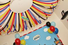 Super Heros Birthday Party Ideas | Photo 12 of 22 | Catch My Party