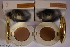 Baci Di Dama and Candied Almond H&M High Impact Eye Colour