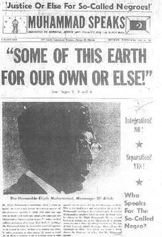 Nation Of Islam newspaper