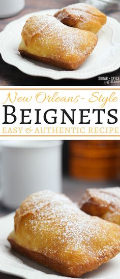 How to make New Orleans-style Beignets, an easy and authentic recipe that will transport you straight to Bourbon Street. Perfect for Mardi Gras, a special family brunch, or any gathering of friends. These homemade donuts pair perfectly with a great cup of coffee
