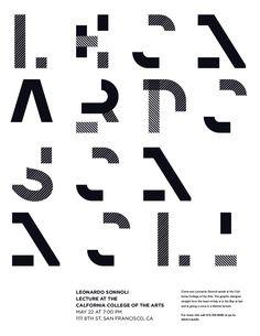 Leonardo Sonnoli Lecture Poster on Behance