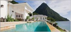 ❦ Sugar Beach Residences | Luxury Caribbean Property on St Lucia | 3, 4, 5 Bed Villas on the Jalousie Plantation (Slide show, wait for it to advance a couple of seconds).