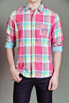 JackThreads - L/S 1 Pocket Big Plaid Shirt