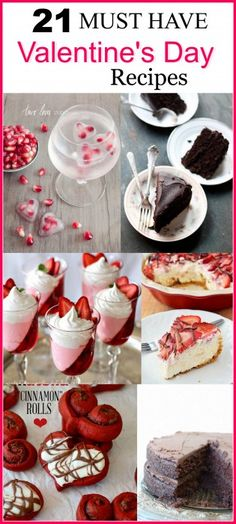 21 Must Have Valentine's Day Recipes