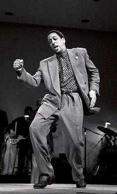 Gregory Hines-tap dancing