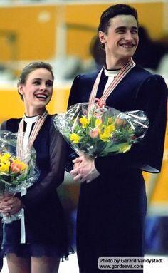 1994 Europeans, Katia Gordeeva & Sergei Grinkov
