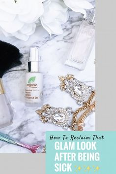 How To Reclaim That Glam Look After Being Sick #findbeauty #organicdoctor #ad