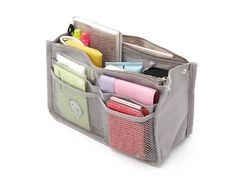 Korean version of the simple multi-compartment double zipper portable package, bag in bag storage organizer pocket (Grey) TGLOE, http://www.amazon.co.uk/dp/B00COGXA64/ref=cm_sw_r_pi_dp_lCSWrb0C163M9