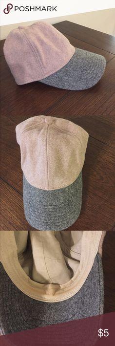 J. Crew wool hat Wool baseball hat smoke free J. Crew Accessories Hats