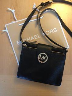 Michael Kors bag with many rooms inside.  #michaelkors