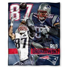Decorate A Bedroom With This Complete 3 Pc Set Featuring Your Favorite NFL  Player And Team Products. Each New England Patriots NFL Bedroom Decor Set  Comes W
