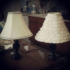 DIY lamp shade tutorial :)