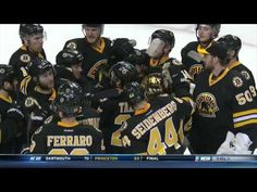 Brad Marchand OT Penalty Shot Goal 2/6/16 - Marchy points at Lehner, and  proceeds to wreck him :):):)