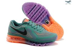 Dark Green Black Purple Womens Shoes Nike Air Max 2014
