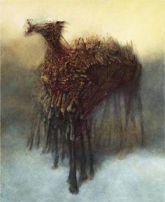 Zdislav Beksinski (1929 - 2005)   Untitled
