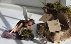 Garden Fairy with Harvest Box Fairy Blanket by OliveNatureFolklore