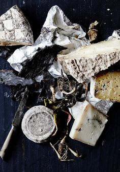 Hunks of cheese make for a perfect Bastille Day