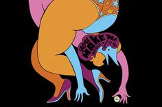 """Parra """"Tracy Hard a Hard Sunday"""" Exhibition at Jonathan LeVine Gallery"""