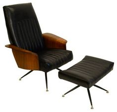 One Kings Lane - A Nod to Mod - Plycraft-Style Lounge Chair