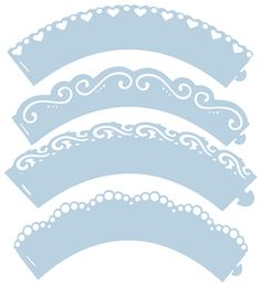 Blank Cupcake Wrapper Template Party Printables Picture cakepins.com