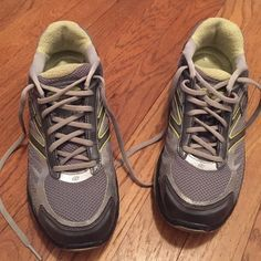 Skechers Shape Ups Toners ultra fit Sneakers. Flash Sale... Final drop..These Sneakers have been worn. Great for your workouts, a breathable mesh, rubber soles synthetic upper. Lace- up front means a custom fit. Color is Silver/Grey/little Green. No shoe box. Skechers Shoes Sneakers