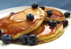No idea, I'm just craving blueberry pancakes. I'm lousy at making pancakes though.