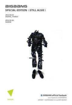 Big Bang releases Taeyang's teaser image for 'Still Alive' #allkpop #kpop #BigBang #Taeyang