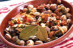 Caracoles jerezanos #receta #caracoles