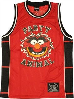 Muppets Animal Basketball Jersey
