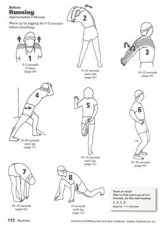 stretches pre running