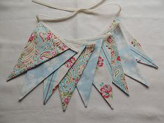 Not so nautical but pretty blues Bunting Garland, Garlands, Nautical Bunting, Baby Items, Blues, Wreaths, Pretty, Ebay, Fashion