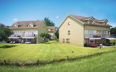 Bauprojekt AG + Eurema Immobilien Breitli - Buttikon 3d Modellierung, Studios, Mansions, House Styles, Home Decor, Real Estates, Architecture, Projects, Photo Illustration