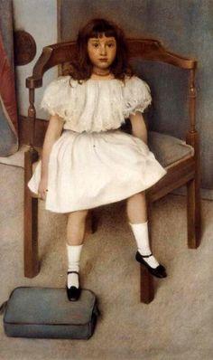 Fernand Khnopff (1858 – 1921, Belgian)