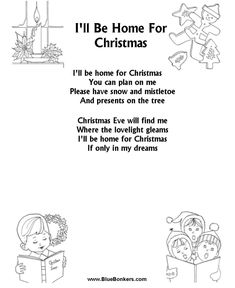 christmas time is here free printable christmas carol lyrics sheets favorite christmas song sheets