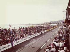 """Images de la """"Cap Camera"""" sur l'arrivée du Tour de France à Marseille, le 3 juillet 2013. #tdf #orange"""