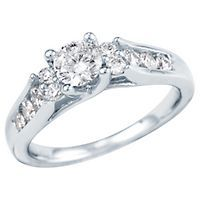 Radiant Star 1ct TW Diamond Engagement Ring 3,699.00
