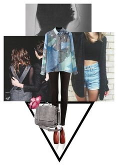 """""""cool kids"""" by outfitx ❤ liked on Polyvore featuring Santoni, Pull&Bear and pull"""