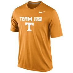 Tennessee Volunteers Nike Team 119 Legend Authentic Local Performance T- Shirt - Tennessee Orange -