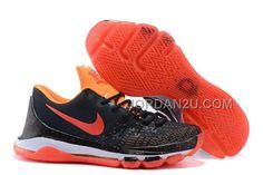 http://www.jordan2u.com/nike-kd-8-black-red-orange.html Only$66.00 #NIKE KD 8 BLACK RED ORANGE #Free #Shipping!