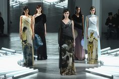Fashion house Rodarte debuted five out-of-this-world Star Wars dresses on the New York Fashion Week runway Tuesday.