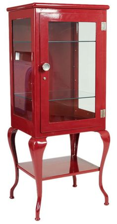 Ruth Burts Interiors: vintage display cabinet chic!