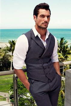 David Gandy‬ for ‪‎Dolce & Gabbana‬ ‪Light Blue -  Photos by Victor Demarchelier. Location: Miami - 2015