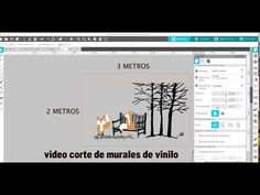 (2283) DISEÑAR Y CORTAR VINILO ADHESIVO HASTA 3 METROS CON CAMEO - YouTube Silhouette, Youtube, Rugs, Murals, Silhouettes, Youtube Movies