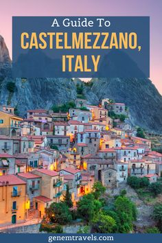 Castelmezzano is true hidden gem in southern Italy, Basilicata region. Surrounded by beautiful Lucanian Dolomites mountains in the valley of Basento. One of the places to visit in Italy. Also in the village is Europe one of the fastest zip line Volo dell'Angelo. Italian mountain village that is worth visiting. #italy Venice Travel, Rome Travel, Travel Abroad, Travel Europe, European Travel, Italy Travel Tips, Travel Info, Travel Guide, Beautiful Places To Visit